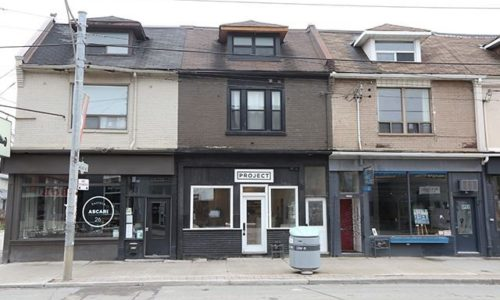 3 storey space with 5+1 units and parking in the heart of Leslieville | Leslie Brlec
